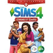 SIMS 4 CHIENS ET CHATS - PC CD