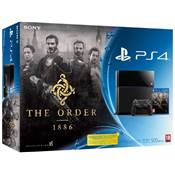 CONSOLE PS4 + THE ORDER 1886 - PS4 nv prix
