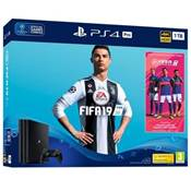 CONSOLE PS4 1To PRO B + A FIFA 19 + 14J - PS4