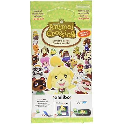 AMIIBO CARTE ANIMAL CROSSING HOME DESIGNER 3 CARTES /42 série 1