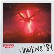 STRANGER THINGS TOILES HAWKINS 84 30X30