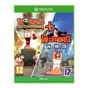 WORMS BATTLEGROUNDS + WORMS WMD - XBOX ONE
