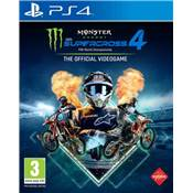 MONSTER ENERGY SUPERCROSS THE OFFICIAL VIDEOGAME 4 - PS4