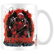 DEADPOOL MUG SMOKING GUN