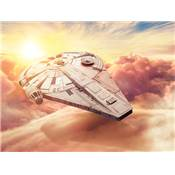 SOLO STAR WARS TOILE MILLENIUM FALCON