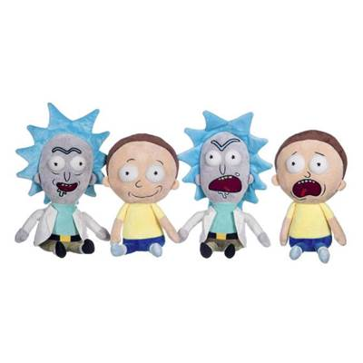 ASSORTIMENT DE PELUCHES RICK AND MORTY /48