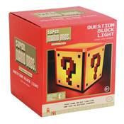 NINTENDO SUPER MARIO BROS LAMPE QUESTION BLOCK V2