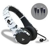 CASQUE STEREO STARTER KIT ARTIC CAMO - PS4 /12