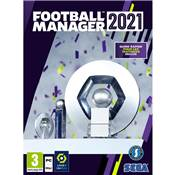 FOOTBALL MANAGER 2021 - PC CD
