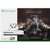 CONSOLE XBOX ONE S 500G SHADOW OF WAR - XBOX ONE