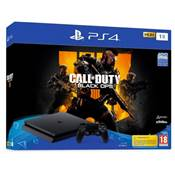 CONSOLE PS4 1To SLIM F + COD BO4 - PS4