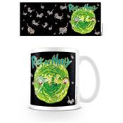 RICK AND MORTY MUG FLOATING CAT DIMENSION