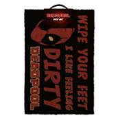 DEADPOOL DOOR MAT DIRTY