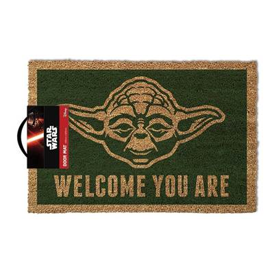 STAR WARS DOOR MAT YODA