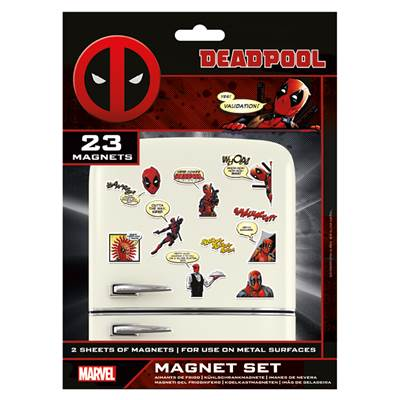MARVEL AIMANT DEADPOOL COMIC