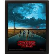 STRANGER THINGS CADRE 3D LENTICULAIRE MIND FLAYER