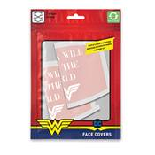 DC COMICS MASQUE SOUS LICENCE WONDER WOMAN SAVE THE WORLD