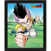 DRAGON BALL Z CADRE 3D LENTICULAIRE FUSION