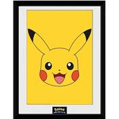 POKEMON COLLECTOR PRINT PIKACHU HEAD /6