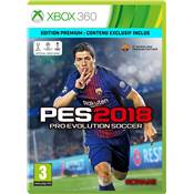 PRO EVOLUTION SOCCER 2018 - XBOX 360 d-one
