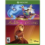 DISNEY CLASSIC GAMES ALADDIN AND THE LION KING - XBOX ONE