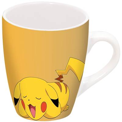 MUG POKEMON BARREL PORCELAINE PIKA SLEEPING /36/6