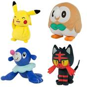 PELUCHE POKEMON SUN&MOON 3700043307797 /6 stick V2