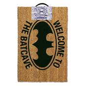 BATMAN DOOR MAT WELCOME TO BATCAVE