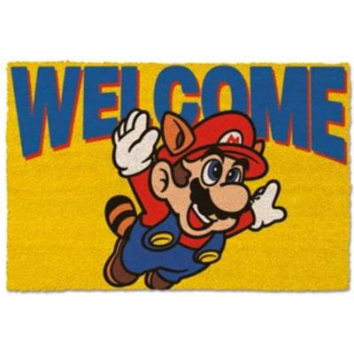 MARIO DOOR MAT WELCOME