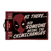 DEADPOOL DOORMAT CHIMICHANGAS
