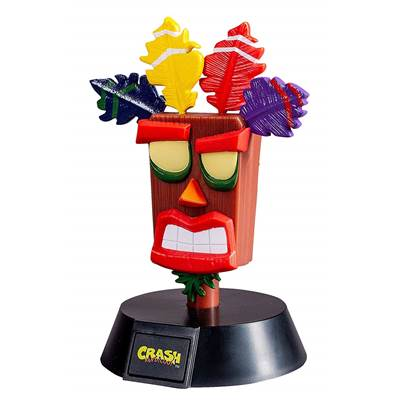 CRASH BANDICOOT ICON LIGHT AKU AKU