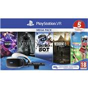 VR PLAYSTATION MK4 +CAMERA V2 + 5 jeux B /2 - PS4