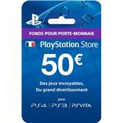 LIVE CARD 50€ /200 - PS4