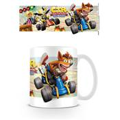 CRASH TEAM RACING MUG FIGHT FOR FIRST PLACE