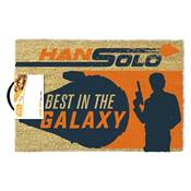 SOLO STAR WARS DOORMAT BEST IN THE GALAXY