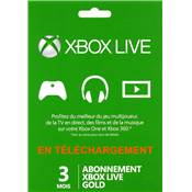 LIVE 3 MOIS /20 - XBOX ONE ESD ancienne ref