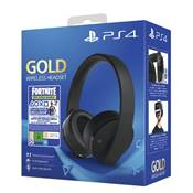 CASQUE STEREO WIRELESS 2.0 SONY GOLD + FORTNITE /2 - PS4