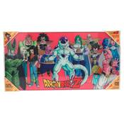DRAGON BALL Z VILLAINS GLASS POSTER DRAGON BALL 60X30 CM