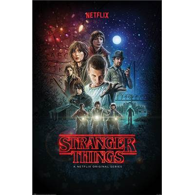 STRANGER THINGS MAXI POSTER ONE SHEET