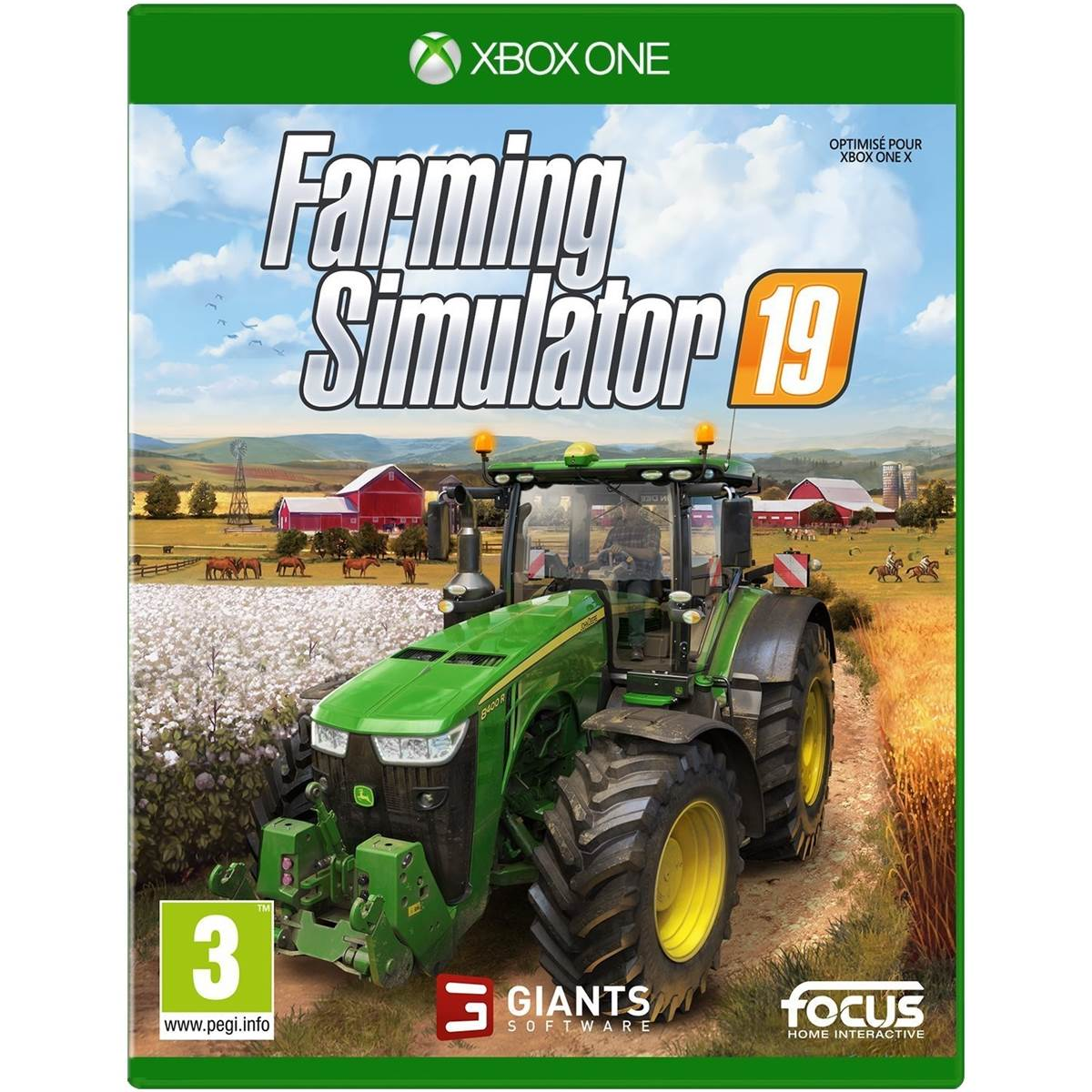 farming simulator 2019 xbox one. Black Bedroom Furniture Sets. Home Design Ideas