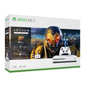 CONSOLE XBOX ONE S 1To ANTHEM - XBOX ONE