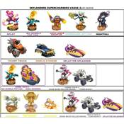 SKYLANDERS SUPERCHARGERS 12 VEHICULES Vague 3 opé03/18