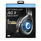 CASQUE WIRELESS PDP PS4 AFTERGLOW AG 9+ (NOIR)