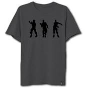 T SHIRT FORTNITE NOIR 3 DANCES HOMME /10