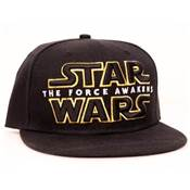 STAR WARS CASQUETTE THE FORCE AWAKENS LOGO