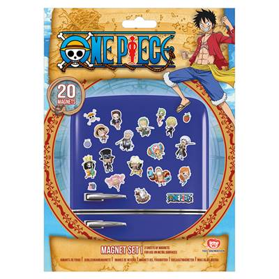 ONE PIECE AIMANTS CHIBI