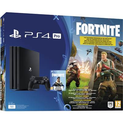 CONSOLE PS4 1To PRO B BLACK FORTNITE - PS4