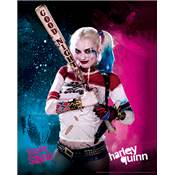 SUICIDE SQUAD CADRE 3D LENTICULAIRE HARLEY QUINN
