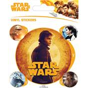 SOLO STAR WARS STICKER
