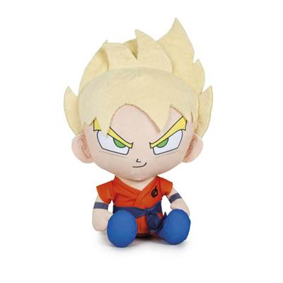 DRAGON BALL PELUCHE GOKU SAYAN 28CM /12